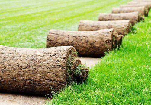 Leg zelf grasmatten