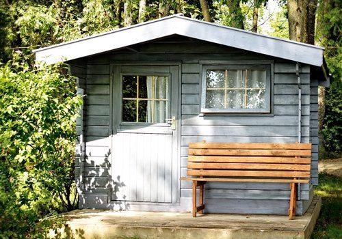 Verschillende afmetingen houten tuinhuis